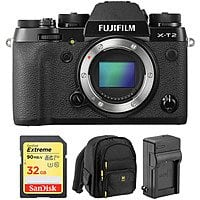 Fujifilm X-T2 Digital Camera w/ Accessory Kit $799
