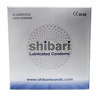 Condoms 36 count, Shibari Premium Lubricated latex ($3.47+tax)