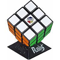 Hasbro Rubik's Cube 3x3 Puzzle Game $2.99 + Free Prime Shipping