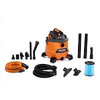 14-Gal RIDGID 6.0-Peak HP NXT Wet/Dry Shop Vacuum w/ Fine Dust Filter + Extras $99 + Free Shipping