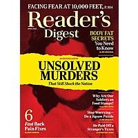 Popular Mechanics- $5.75, Reader's Digest- $5.95,Taste of Home- $4, Family Handyman- $6.50