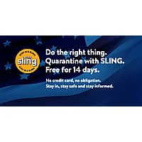 Sling TV - FREE for 14 days. - NO CC Required - No Obligation - New Customers Only Image