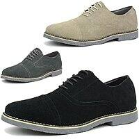 Alpine Swiss Men's Suede Cap Toe Lace up Shoes $22.49 With Free Shipping