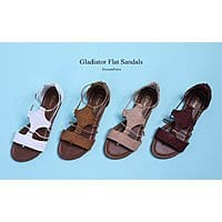 DREAM PAIRS Women's Gladiator Flat Sandals - $8.10 + FS
