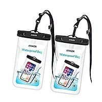 2-Pack Anker Universal IPX8 Waterproof Case for $4.99