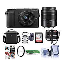 Panasonic Lumix DMC-GX85 Mirrorless w/12-32mm 45-150mm Lenses W/ Free Acc Kit $497.99 + Free Shipping