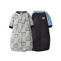 2-Pack Gerber Baby Boy Sleep Bags Wearable Blanket Pajamas $6 ($3 each) + Free store pickup at Walmart