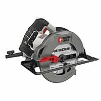 Porter Cable PCE300 15 Amp Heavy Duty Steel Shoe Circular Saw $29.98 @Amazon, Lowes