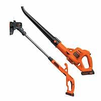 """BLACK+DECKER LCC221 20V MAX Lithium String Trimmer/Edger Plus Sweeper Combo Kit, 10"""" ($49.99 after coupon)"""