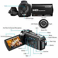 Video Camera Camcorder Lighening deal @ Amazon for $49.99