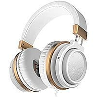 Ailihen MX-06 Over Ear Headphones with Microphone and Volume Control - $  11.95