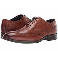Cole Haan Men's Wayne Wingtip Oxford Dress Shoes (British Tan, various sizes) $56.99 + Free Shipping