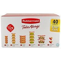 Walmart: 40-Piece Rubbermaid TakeAlongs Food Storage Containers $8.48 + Free Store Pick-Up