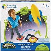 Learning Resources Primary Science Leap & Launch Rocket $10 + Free Store Pickup