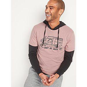 Old Navy Apparel: Men's Moisture-Wicking Pro Polo Shirt $4.18, Women's High-Waisted O.G.</body></html>