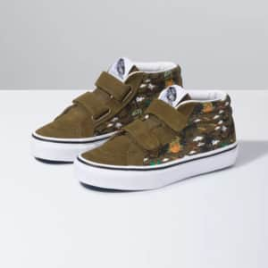Vans Shoes: Kids' Dineapple Floral Sk8 Mid Reissue V Shoe $19.95, Men's Crew Classic Slip-On Shoe (floral/red) $19.95, More + Free Shipping