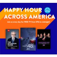 Sling TV: Watch TV for Free During Happy Hour from 5pm to midnight