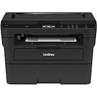 Brother Wireless Monochrome Laser Printer, Copier, Scanner, HL-L2395DW $94.99, Free $20 Gift Card with +$5 add-on