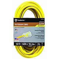 12/3 50ft Southwire Extension cord Made in America $26.37 on Amazon free shipping with Prime