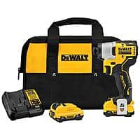 Dewalt 12v xtreme impact driver with 2 batteries and a charger $99