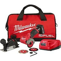"Milwaukee M12 FUEL 12V Brushless 3"" Cut Off Saw Combo Kit $129 + Free Shipping"