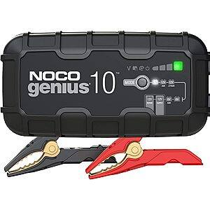 NOCO GENIUS10, 10-Amp Fully-Automatic Smart Charger, 6V and 12V Battery $64.96