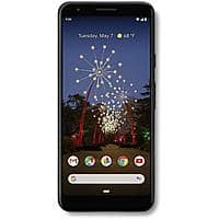 $279.99 - Google - Pixel 3a with 64GB Memory Cell Phone (Unlocked) - Just Black - G020G