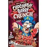 Target Cartwheel: 12.5-Oz Cap'n Crunch Chocolatey Berry Breakfast Cereal $1.50 + Free Store Pickup