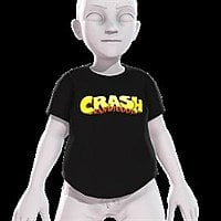 Free Crash Bandicoot & Spyro T-Shirt Xbox One Avatar Items Image