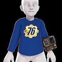 Free Fallout 76 Xbox Avatar Items: Pip-Boy 2000 MK VI, Vault Suit, T-Shirt, & T-51b Power Armor Helmet Image