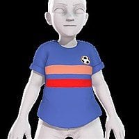 Soccer Jersey (4 Colors, 2 Horizontal Stripes) Xbox One Avatar Item for Free Image
