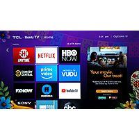 Free $4.99 FandangoNOW Digital Movie Rental Credit via Amica Ad on Roku Device Image
