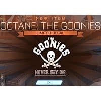 Rocket League: The Goonies - Never Say Die Limited Decal (In-Game Redemption Code) Image