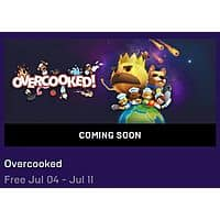 Overcooked (PC Digital Download) for Free (July 4th - 11th) Image