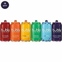 18-Count 12oz bubly Sparkling Water (Variety Pack) for $6.04 w/ S&S + Free Shipping