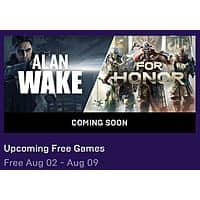Alan Wake & For Honor (PC Digital Downloads for Free (August 2nd - 9th) Image
