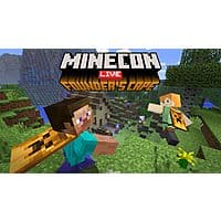 Free Minecon Live Founder's Cape in the Minecraft Masrketplace (Xbox One, Windows 10 Edition, Nintendo Switch, iOS & Android) Image
