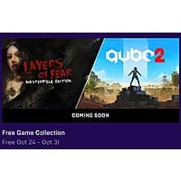 Epic Games: Q.U.B.E. 2 & Layers of Fear: Masterpiece Edition (PC Digital Download) for Free (10/24 - 10/31) Image