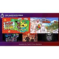 Twitch Prime Free PC Digital Games: ToeJam & Earl: Back in the Groove!, Sherlock Holmes: The Devil's Daughter, Hover, When Ski Lifts Go Wrong, & Hue (Starts December 2nd) Image