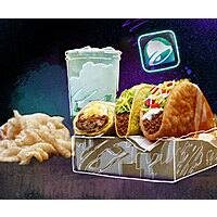 Free $5 Chalupa Cravings Box on June 30th for Taco Bell Account Holders (iOS or Android App)