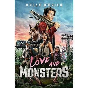 Prime Members: Love and Monsters (Digital HD Movie Rental) $1.99