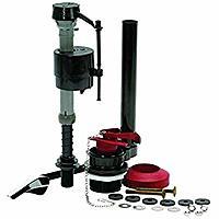 Fluidmaster 400AKRP10 Universal Complete Toilet Tank Repair Kit For 2-Inch Flush Valve Toilets $13.99