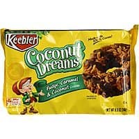 Keebler Fudge Shoppe Cookies, Coconut Dreams, 8.5 Ounce Package (Pack of 4) after 15% S&S $6.53
