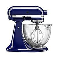 KitchenAid 5 qt. Stand Mixer with Glass Bowl & Flex Edge Beater $  175 shipped