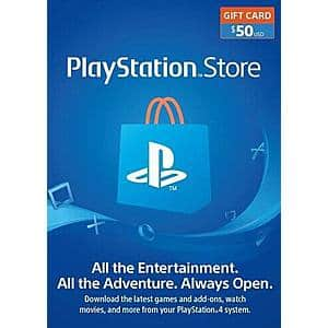 [Digital] PlayStation Gift Card Sale: $50 – $44.99, PS+ – $28.36, PS Now $35.62 and More