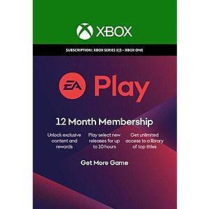 EA Play 12 months [Xbox Digital Download] $21.99