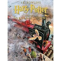 $13.97 - Harry Potter and the Sorcerer's Stone - Illustrated Book 1