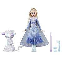 Disney Frozen Long Hair Doll (Elsa or Anna) w/ Automatic Hair Braiding Tool $10 + Free Store Pickup