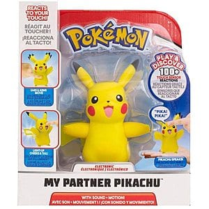 Pokémon Electronic & Interactive My Partner Pikachu $10 + Free Shipping w/ Amazon Prime or Orders $25+