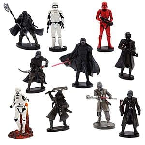 10-Pc Star Wars: The Rise of Skywalker Deluxe Figure Play Set (The First Order) $11 + Free Shipping
